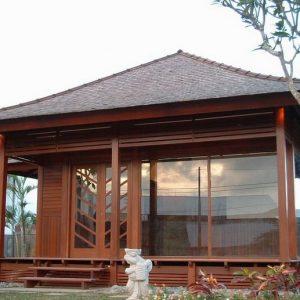 Desain Rumah Kayu Minimalis Terbaru