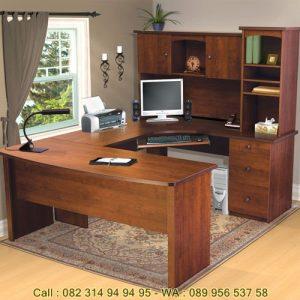 Desain Meja Kantor Minimalis