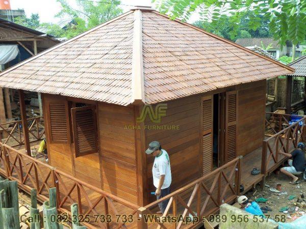 Jual Rumah Kayu Kelapa Minimalis