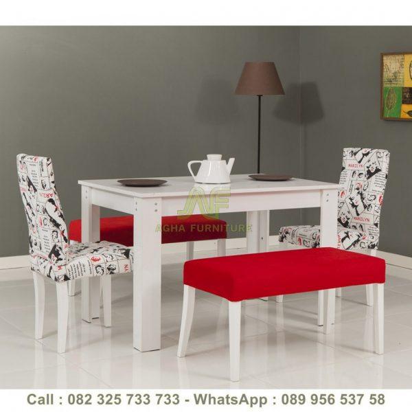 Meja Makan Terbaru Kombinasi Sofa